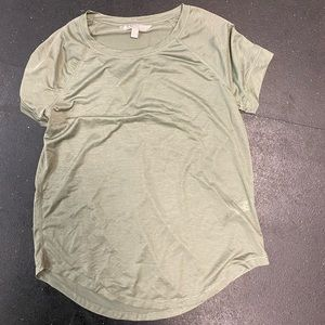 Athleta XS green top brand new